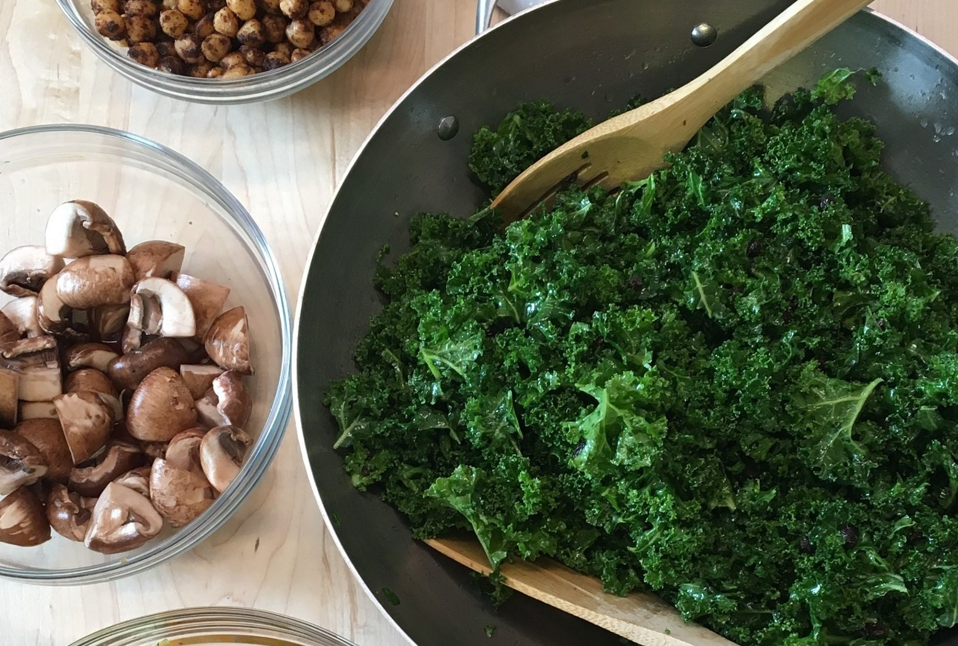 Eat Your Greens! Prep…Cook…Enjoy. Hands-on Cooking and Eating Experience.